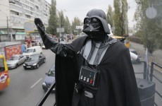 This guy called Darth Vader is running for election, and he's kind of brilliant