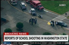 Two dead after shooter opens fire at US high school