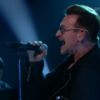 Here's that gorgeous U2 performance from last night's Late Late Show