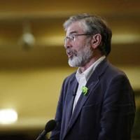 Gerry Adams: 'Sinn Féin has not covered up abuse at any level'