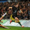 George North scored four tries in Northampton's powerful win over Ospreys