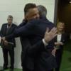 All of Sky's dreams come true as van Gaal and Mourinho hug before kick-off