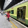 More and more people are using the train to get around the country