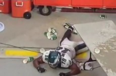 Keeping about 1,000 gallons of Gatorade right beside an NFL sideline is not a good idea