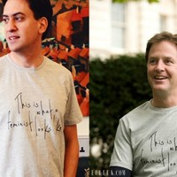 David Cameron under fire for refusing to wear 'feminist' t-shirt