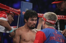 Pacquiao 'crossing fingers' for Mayweather fight next year