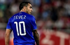 After 3 years in the international wilderness, Carlos Tevez is back for Argentina