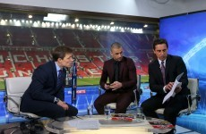 Neville: 'It's what I always think of Tottenham - never ready, weak'.