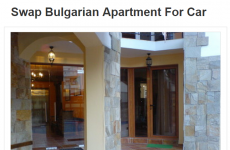 This Meath person will swap you an entire apartment in Bulgaria for a car