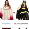 Walmart forced to apologise after offering 'fat girl costumes' section on their website