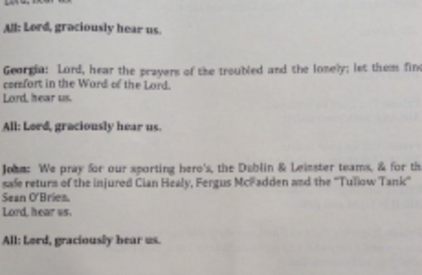 Lord, hear us: They're including Sean O'Brien and Cian Healy