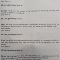 Lord, hear us: They're including Sean O'Brien and Cian Healy in the prayers of the faithful now