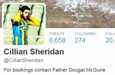 This Irish footballer's 'Fr Dougal' Twitter bio caused a wonderful misunderstanding