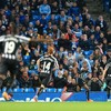 Holders Man City crash out of Capital One Cup to under-strength Newcastle