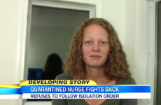 """It's not science-based"" - Nurse who treated Ebola patients refuses to be quarantined"
