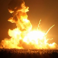 They still don't know why the US space rocket exploded - but they're blaming the Russians