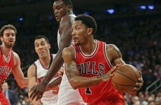Derrick Rose is back, you guys... and he's still really good at playing basketball