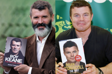 Roy and Brian's books are two of the six shortlisted in the Bord Gáis Energy Sports Book of the Year. Please don't make us choose...