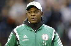 Stephen Keshi to return as Nigeria boss two weeks after being sacked