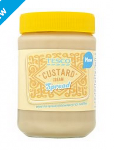 Tesco is actually selling jars of Custard Cream spread