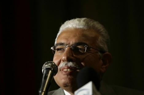 Former Egyptian prime minister Ahmed Nazif