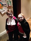 Vampires, zombies and candy floss ‒ Kids have some great Halloween costumes this year