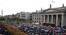 As it happened: Tens of thousands protest against water charges
