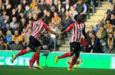 Wanyama has steered Southampton into the lead from 40 yards out against Hull