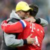 Kloppo and Lewandowski hugged it out before Der Klassiker
