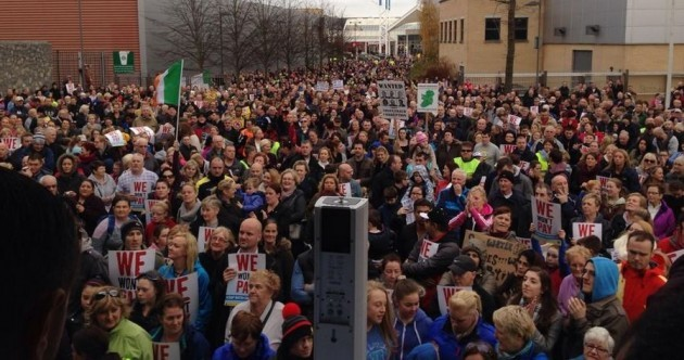 IN PICTURES: Ireland's Umbrella Movement takes to the streets against water charges