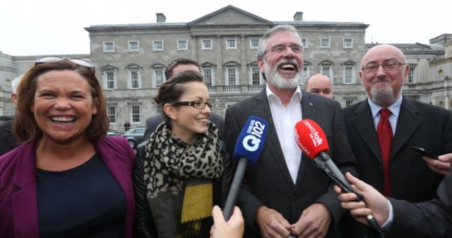 Despite the Mairia Cahill controversy, Sinn Féin are the most popular party in Ireland