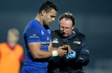 Leinster's Te'o sidelined for six weeks after undergoing surgery on broken arm