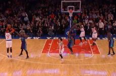Carmelo Anthony joined a pretty exclusive NBA club with this three-pointer