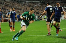 Sexton injury 'nothing of concern' for Ireland, but Best joins Ross as a front row doubt