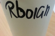 Dublin Starbucks manages the worst name fail ever