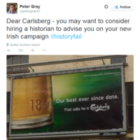 Carlsberg: We weren't being insensitive about the famine in new ad