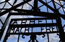 Arbeit Macht Frei gate stolen from Dachau concentration camp