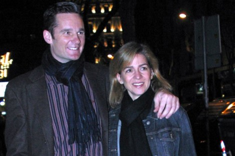 Inaki Urdangarin and his wife, Cristina De Bourbon, pictured in 2004,