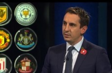 Watch Gary Neville's analysis of the Manchester derby