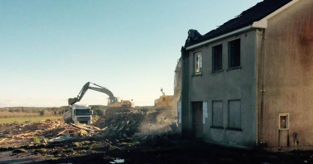 Ghost estates: The diggers arrive to tear down another 'relic of the boom'