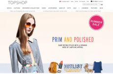 Topshop removes controversial image of thin model from website