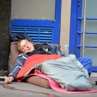 Almost a quarter of people across Europe live on the brink of poverty