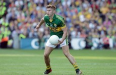 Footballer of the Year set to miss opening months of Kerry's 2015 season