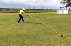 Texan golfer breaks Guinness World Record using 20ft driver