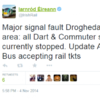 Another rail melt-down in Dublin: Passengers left in limbo for the second night in a row