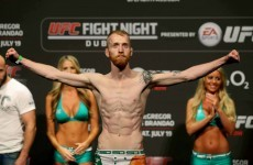 Paddy Holohan will fight on the McGregor v Siver card in Boston