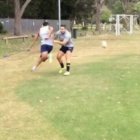 This is the flashiest grubber kick you'll see anywhere this month
