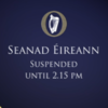 There was an almighty row over Phil Hogan and Irish Water in the Seanad today