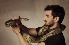 This man is going to be 'eaten alive' by an anaconda for a TV show