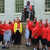 An education: Manchester United players visit Harvard